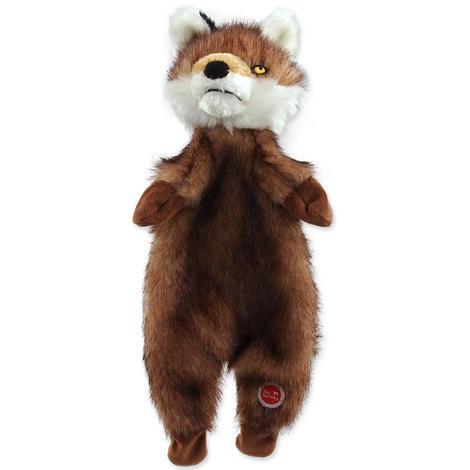 Hračka DOG FANTASY Skinneeez liška plyšová  34cm