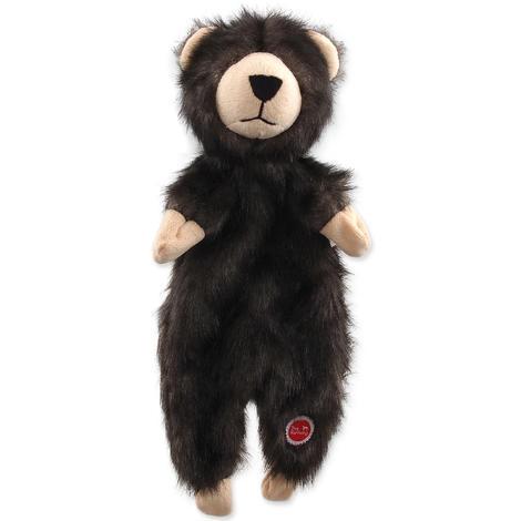 Hračka DOG FANTASY Skinneeez medvěd plyšový  34cm
