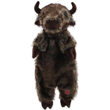 Hračka DOG FANTASY Skinneeez bizon plyšový  50cm
