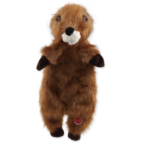 Hračka DOG FANTASY Skinneeez bobr plyšový  34cm