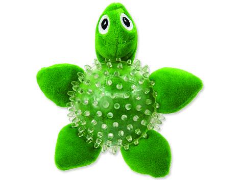 Hračka DF SEA TPR želva v míčku 9 cm