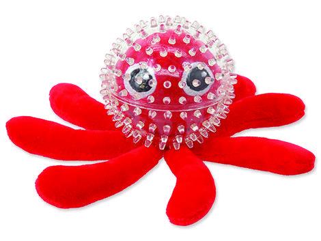 Hračka DF SEA TPR chobotnice v míčku  9 cm