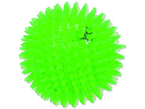 Hračka DOG FANTASY míček LED zelený 10 cm 1ks