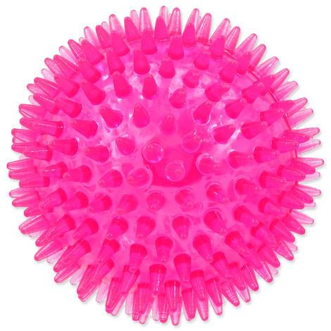 Hračka DOG FANTASY míček pískací růžový 10 cm 1ks