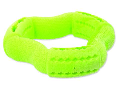 Hračka DOG FANTASY FTPR kruh na pamlsky zelený  12 cm
