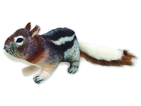Hračka DOG FANTASY textilní chipmunk 1ks