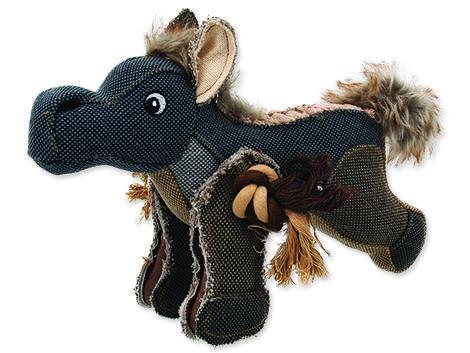Hračka DOG FANTASY textilní kůň 1ks