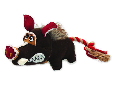 Hračka DOG FANTASY textilní divočák 1ks