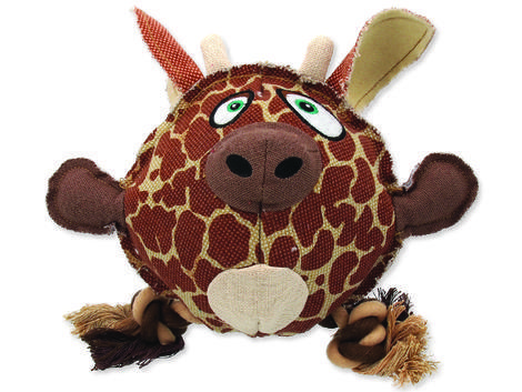 Hračka DOG FANTASY textilní žirafa 1ks