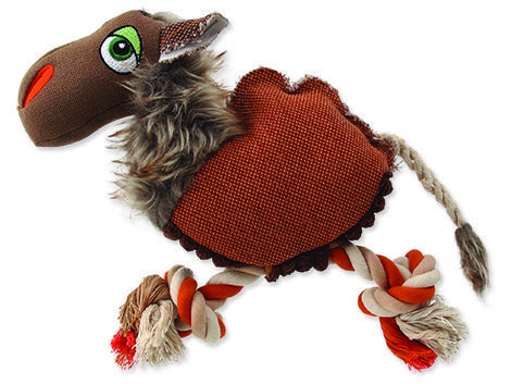 Hračka DOG FANTASY textilní velbloud 1ks