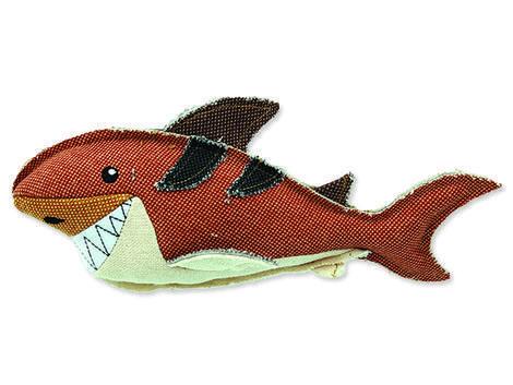 Hračka DOG FANTASY textilní žralok 1ks