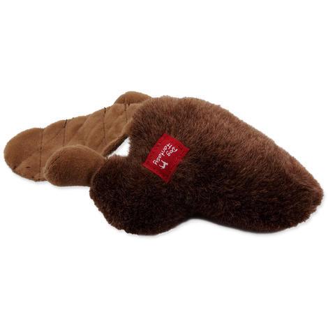 Hračka DOG FANTASY Silly Bums bobr  30 cm