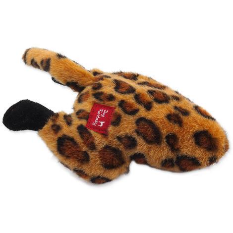 Hračka DOG FANTASY Silly Bums leopard  26 cm