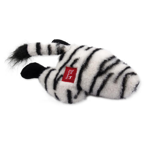 Hračka DOG FANTASY Silly Bums zebra  28 cm