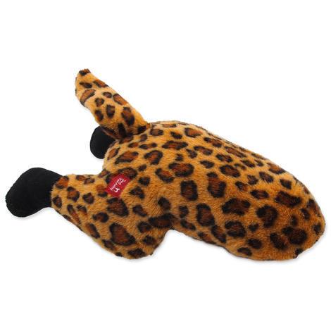 Hračka DOG FANTASY Silly Bums leopard  41 cm