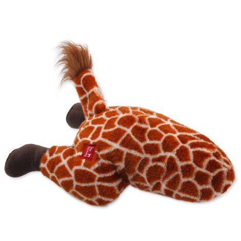 Hračka DOG FANTASY Silly Bums žirafa  41 cm