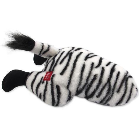 Hračka DOG FANTASY Silly Bums zebra  41 cm