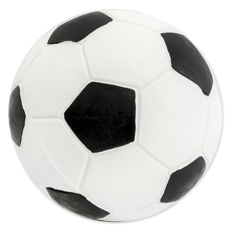 Hračka DOG FANTASY Latex fotbalový míč se zvukem 10 cm 1ks