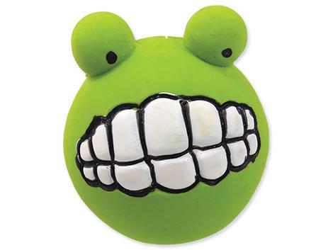 Hračka DOG FANTASY Latex zuby se zvukem zelené 6 cm 1ks