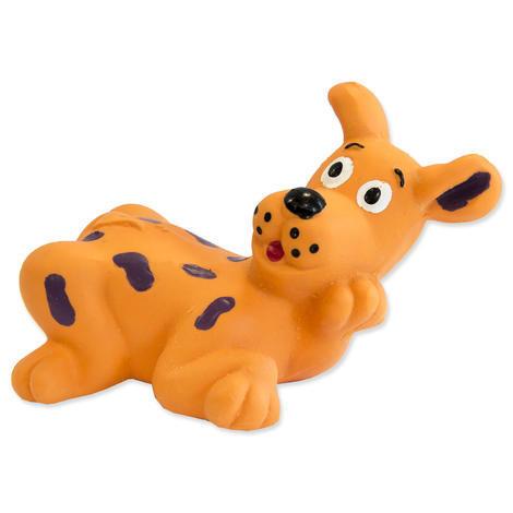 Hračka DOG FANTASY Latex zvířátka se zvukem mix 8-10 cm 1ks