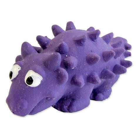 Hračka DOG FANTASY Latex dinosarus se zvukem mix 6-8 cm 1ks