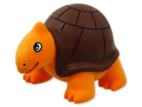 Hračka DOG FANTASY Latex želva se zvukem 8 cm 1ks