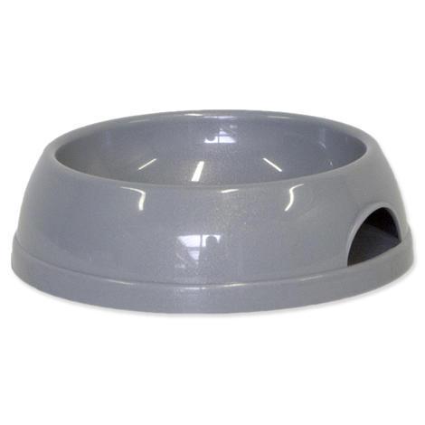 Miska DOG FANTASY plastová šedá 472 ml