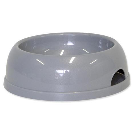 Miska DOG FANTASY plastová šedá 772 ml