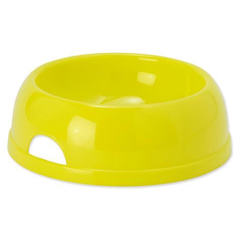 Miska DOG FANTASY plastová žlutá 25,2 cm 1450ml