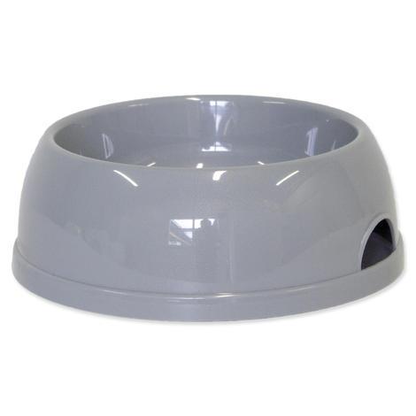 Miska DOG FANTASY plastová  šedá 1452 ml