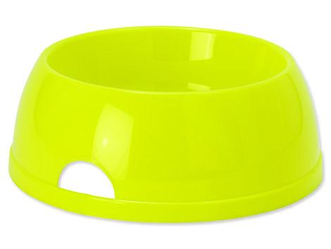 Miska DOG FANTASY plastová žlutá 29,8 cm 2450ml