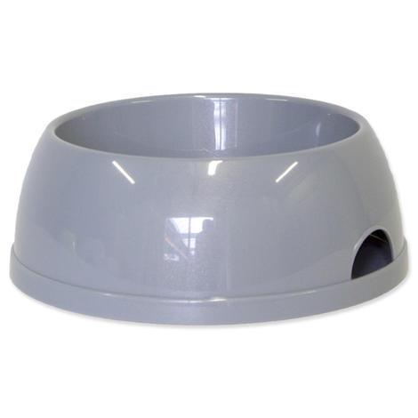 Miska DOG FANTASY plastová šedá 2452 ml