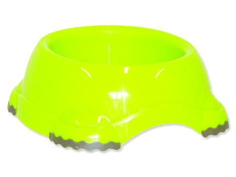 Miska DOG FANTASY plastová protiskluzová zelená 315 ml