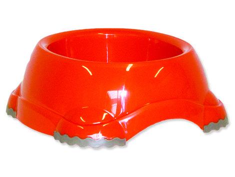 Miska DOG FANTASY plastová protiskluzová oranžová 1247 ml