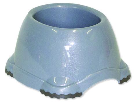 Miska DOG FANTASY plastová protiskluzová pro kokry šedá 651 ml