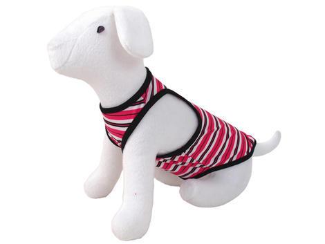 Šaty DOG FANTASY summer proužkované XS XS