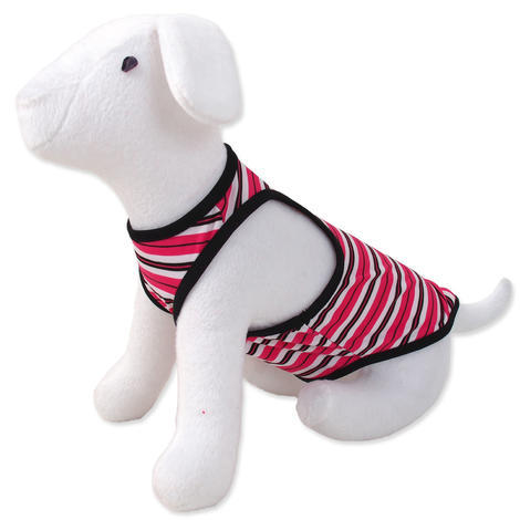 Šaty DOG FANTASY summer proužkované M/L M/L