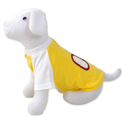 Triko DOG FANTASY sport 08 žluté  M
