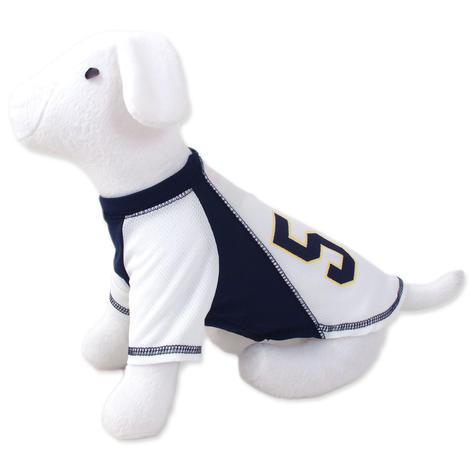 Triko DOG FANTASY sport 57 bílo-modré  L