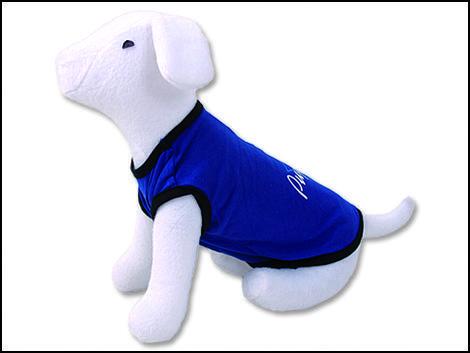 Triko DOG FANTASY idol modré  S/M