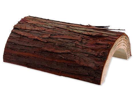 Úkryt SMALL ANIMAL Kůra stromu dřevěný 20 x 17 cm