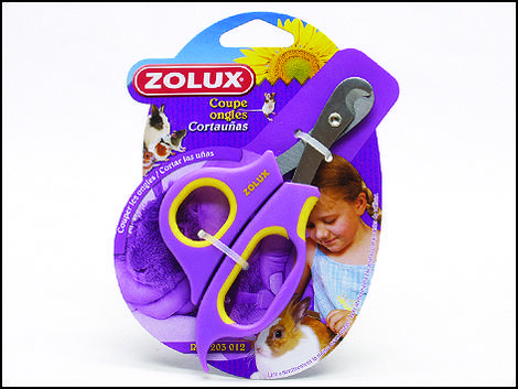 Nůžky ZOLUX na drápky pro hlodavce s maximální účinností