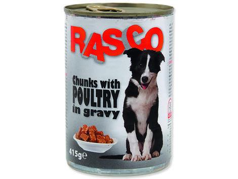 Konzerva RASCO drůbeží kousky ve šťávě 415g
