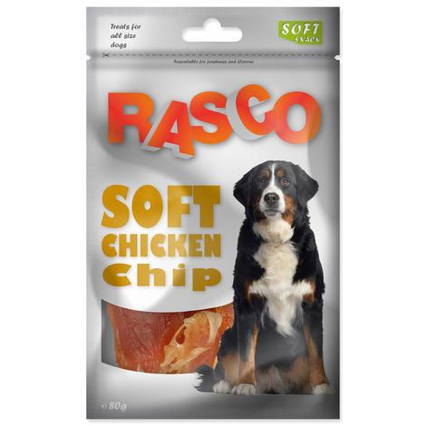 Pochoutka RASCO plátky s kuřecím masem 80g