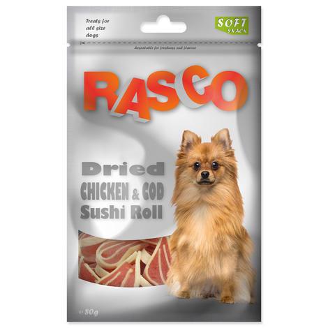 Pochoutka RASCO sushi z tresky a kuřete 80g
