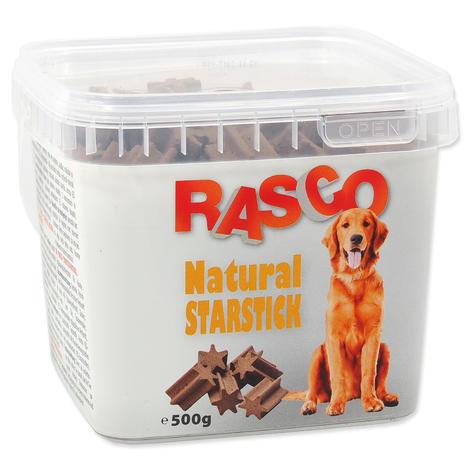 Pochoutka RASCO starstick natural 530g