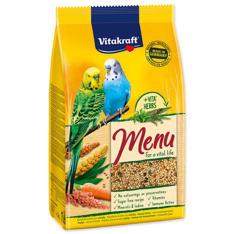 Menu VITAKRAFT Sittich Honey bag 1kg