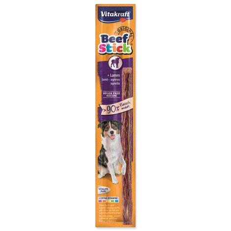 Beef Stick VITAKRAFT lamm tyčinka s jehněčím masem 12g