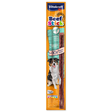 Beef Stick VITAKRAFT inulin masová tyčinka s inulinem 12g