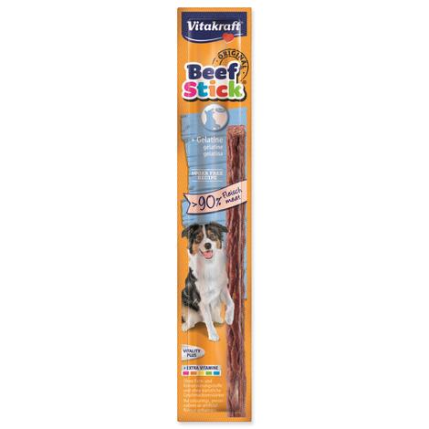 Beef Stick VITAKRAFT gelatine pro posílení struktury kostí 12g